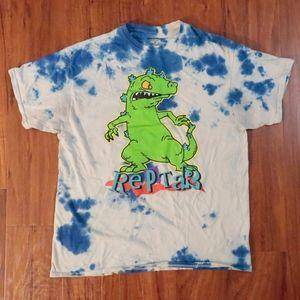 Reptar tie dye shirt